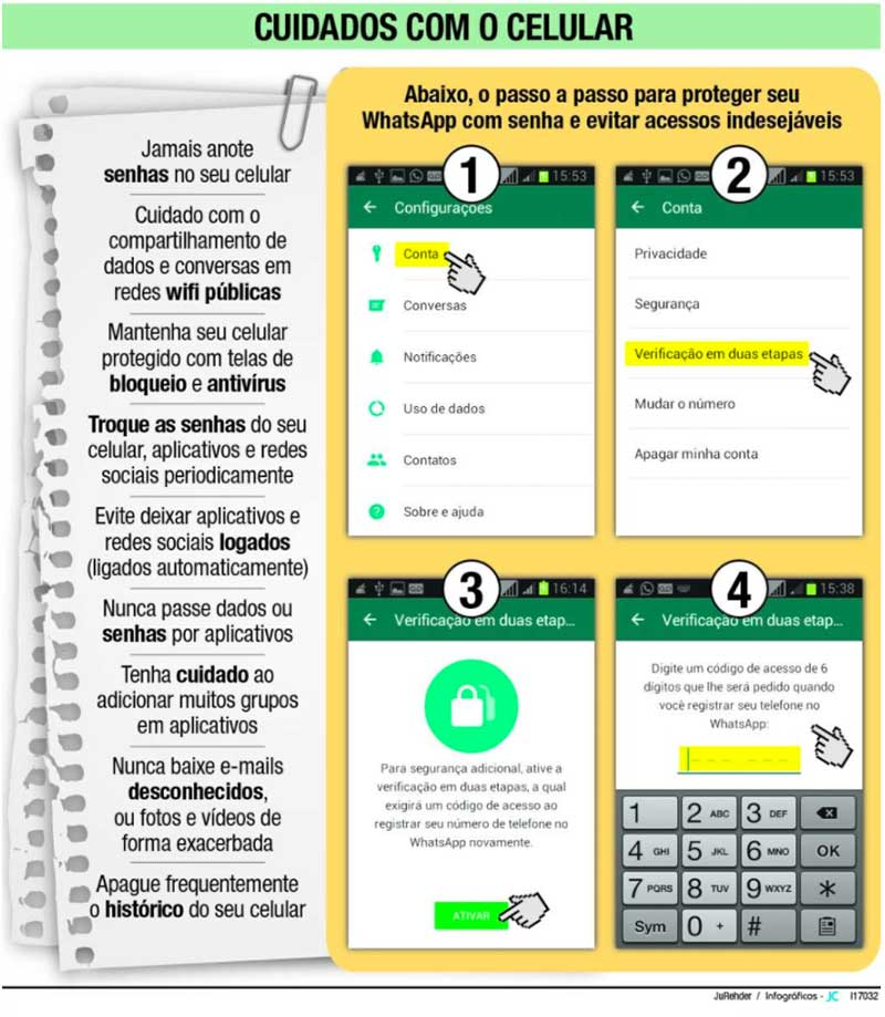 golpe no whatsapp jcnet